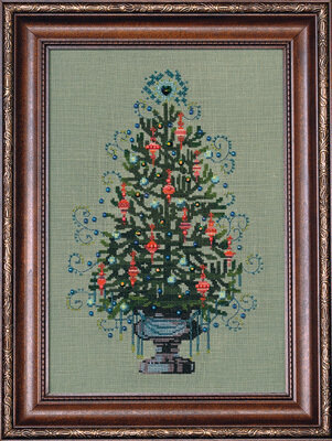 Christmas Tree 2008 - Mirabilia Cross Stitch Kit