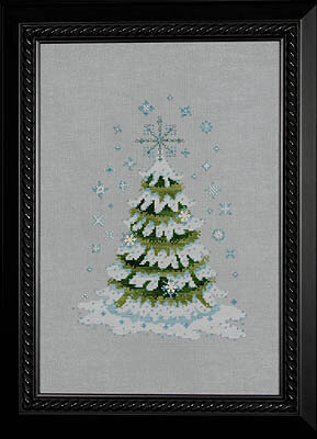 Mirabilia 2010 Christmas Tree - Cross Stitch Kit