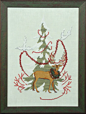 Christmas Tree 2011 - Mirabilia Cross Stitch Kit