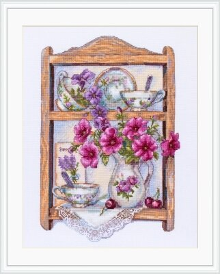 Petunias - Cross Stitch Kit