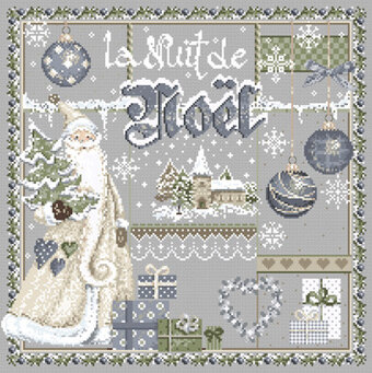 La Nuit de Noel (Christmas Night) - Cross Stitch Pattern