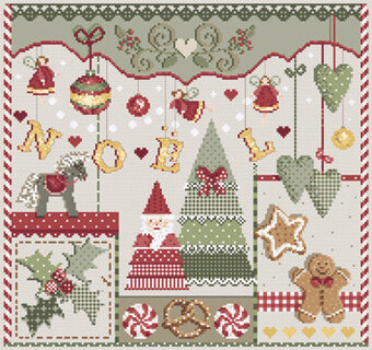 Noel - Cross Stitch Pattern