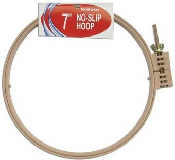 No-Slip Embroidery Hoop - Plastic - 7 inch