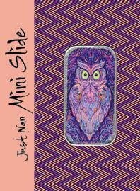 Lavender Lady Owl Mini Needle Slide