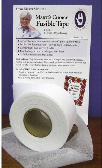 "Marti Michell Marti's Choice Fusible Tape 2"" x 30yd"