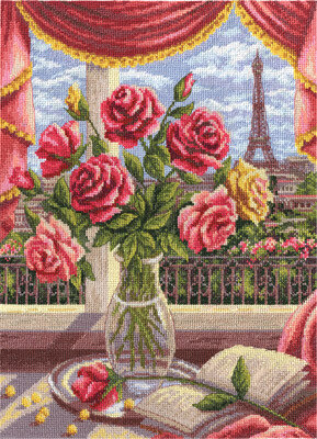 A Window on Paris - Cross Stitch Kit