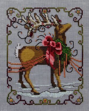 Vixen - Christmas Eve Couriers - Cross Stitch Pattern