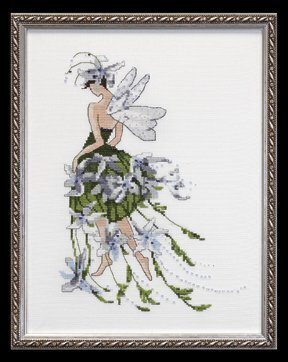 Jasmine - Cross Stitch Pattern