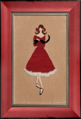 Red Kitten - Cross Stitch Pattern