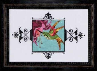 Hummingbird - Cross Stitch Pattern