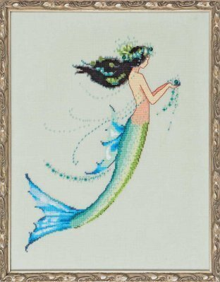 Mermaid Azure - Cross Stitch Pattern