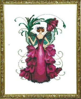 Zinnia  (Pixie Blossom Fairy) - Cross Stitch Pattern