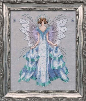 Faerie Winter Dream - Cross Stitch Pattern