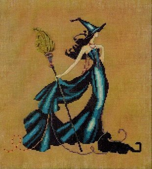 Gigi (Bewitching Pixies) - Cross Stitch Pattern