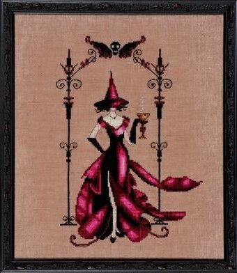 Zenia (Bewitching Pixies) - Cross Stitch Pattern