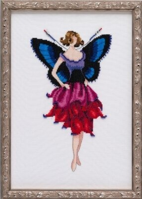 Anemone - Pixie Blossoms - Cross Stitch Pattern