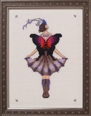 Miss Lole's Daggerwing - Cross Stitch Pattern