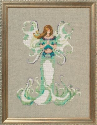 Angel White Trumpet - Cross Stitch Pattern