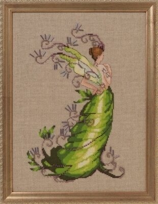 Poison Ivy - Cross Stitch Pattern