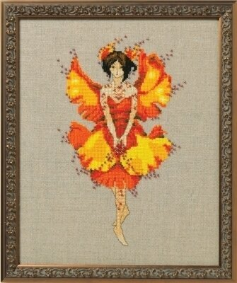 Miss Ginko - Cross Stitch Pattern
