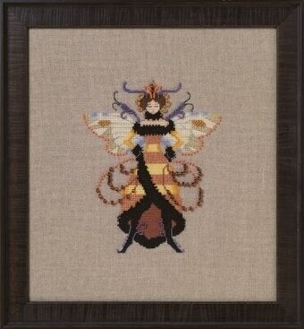 Miss Honey Bee - Cross Stitch Pattern
