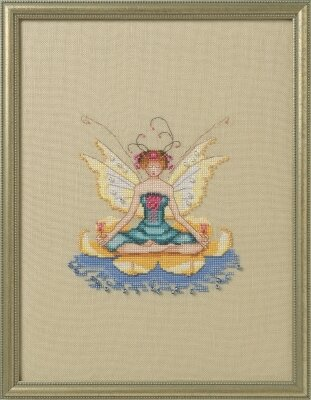Lotus - Cross Stitch Pattern