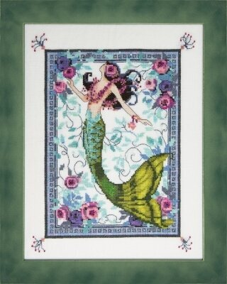 Moonlight Laguna Mermaid - Cross Stitch Pattern