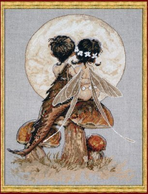 Clair de Lune (Moonlight) - Cross Stitch Pattern