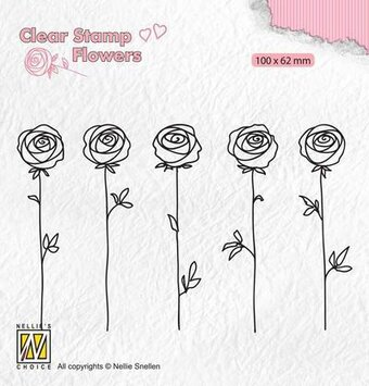 Roses - Clear Stamp