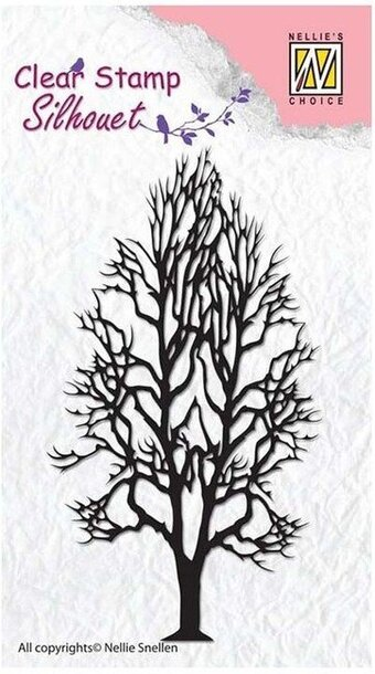 Tree 2 - Nellie's Choice Clear Stamp