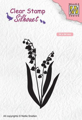Silhouette Lily Of The Valley - Clear Stamp