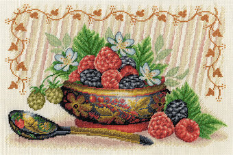 Summer Berries - Cross Stitch Kit