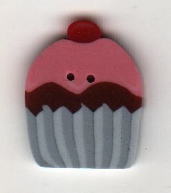 Small Cupcake - Button