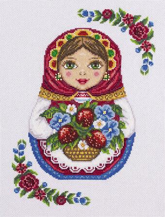 NEW UNOPENED Russian Counted Cross Stitch Kit PANNA N-1488 Summer still life Samovar