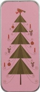 Pink Christmas Needle Slide