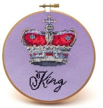 King - Cross Stitch Pattern
