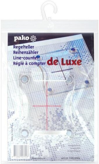 "Pako Magnetic Line Counter 3 3/8"" x 4"""