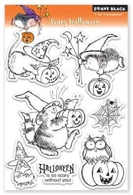 Halloween Rubber Stamp by Penny Black
