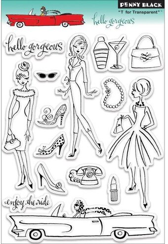 Hello Gorgeous - Clear Stamp