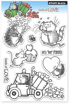 Loads Of Love - Clear Stamp
