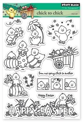 Chick To Chick (Easter) - Clear Stamp