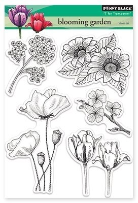 Blooming Garden - Clear Stamp