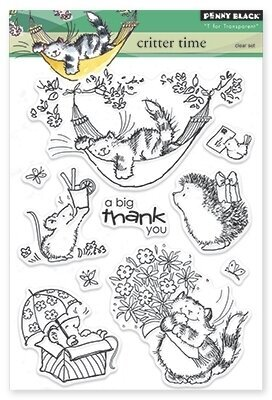 Critter Time - Clear Stamp