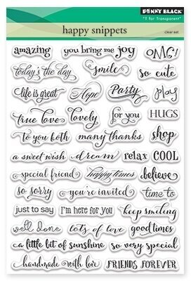Happy Snippets - Clear Stamp