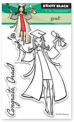 Grad - Clear Stamp