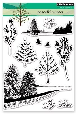 Peaceful Winter - Clear Stamp