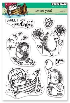 Sweet You - Clear Stamp