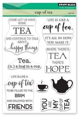 Cup of Tea - Clear Stamp