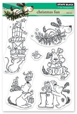 Christmas Fun - Christmas Clear Stamp