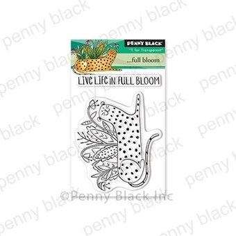 Full Bloom - Penny Black Clear Stamp